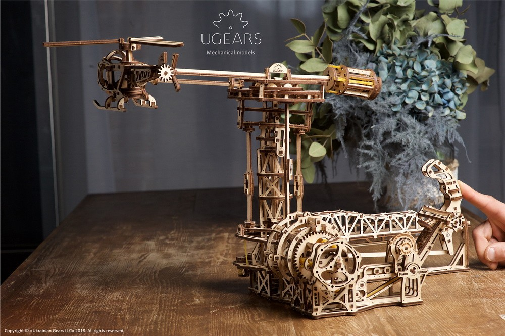 Ugears helicopter