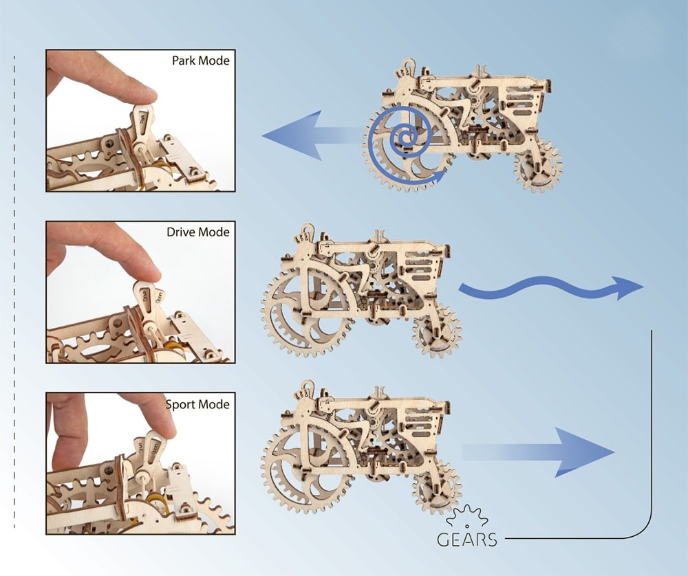 Ugears Tractor instructions pdf