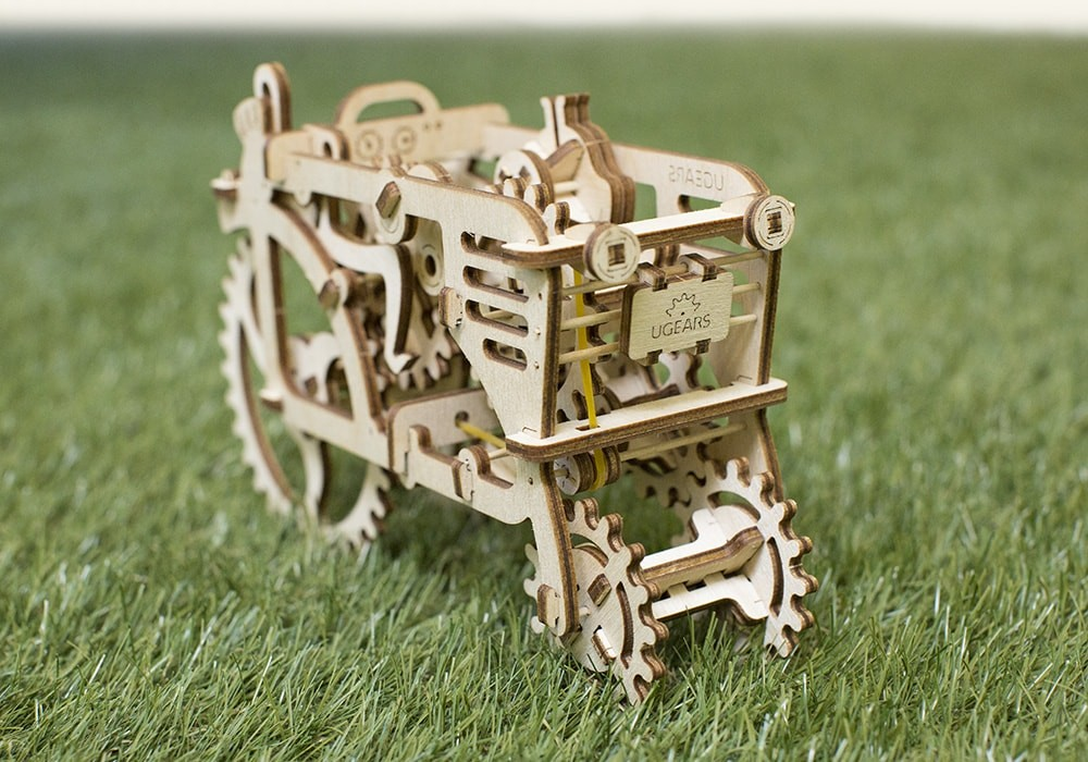 Ugears Tractor instructions