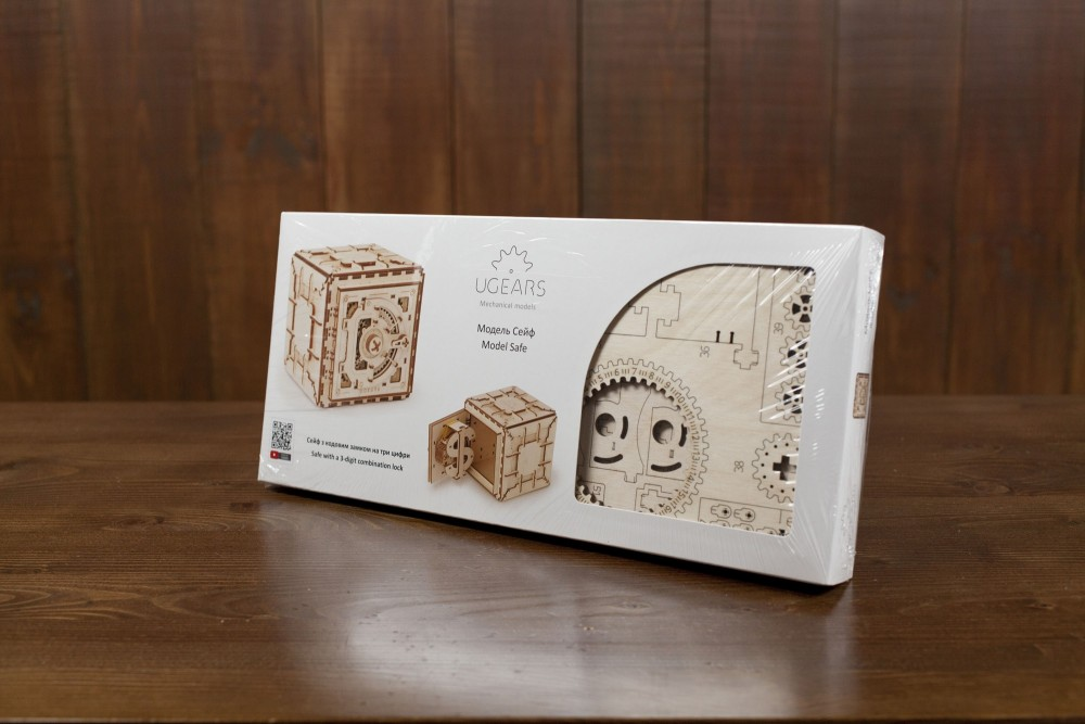 ugears safe box