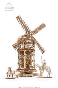 ugears Tower Windmill model kit