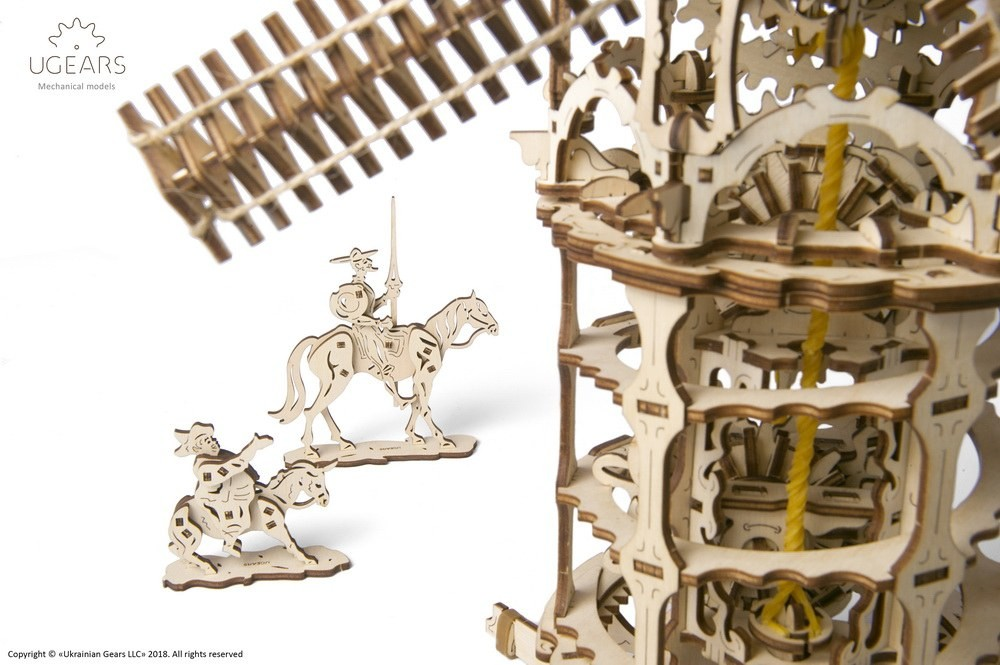 ugears Tower Windmill review