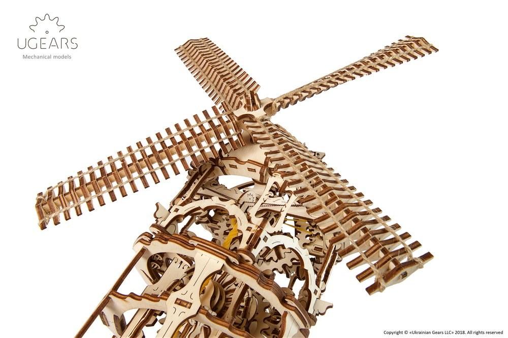 ugears Tower Windmill mechanical model kit