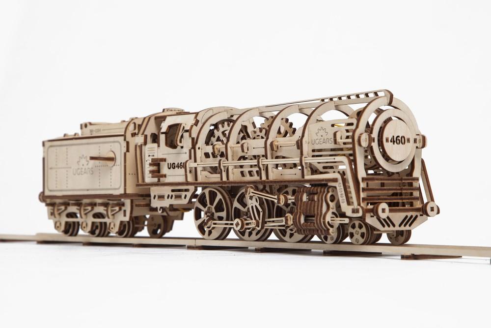 ugears steam locomotive
