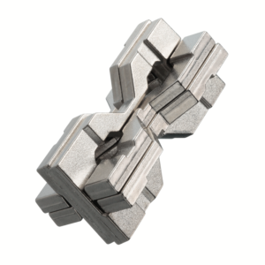 HANAYAMA Huzzle Cast Hourglass metal puzzle