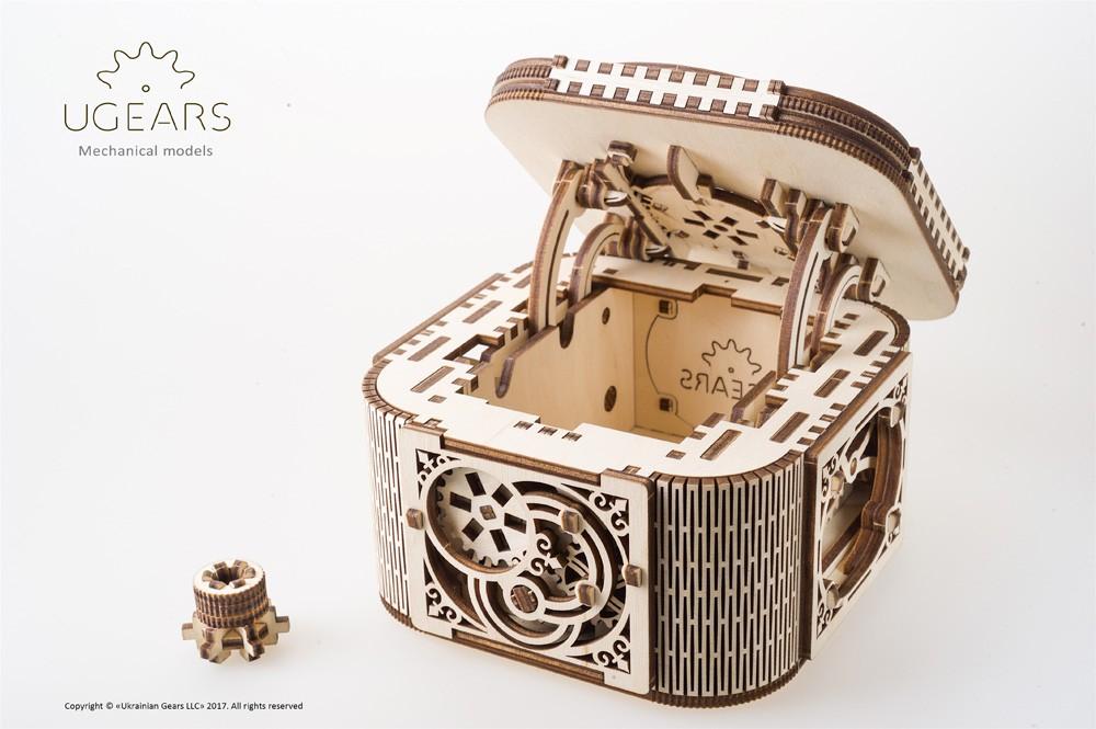 Ugears Treasure Box Model