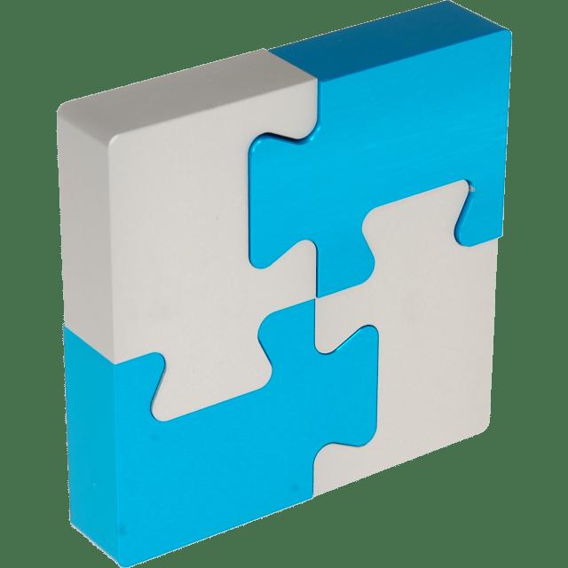 Wil Strijbos – «4 Piece Metal Puzzle» – «4-teiliges Metall Rätsel»