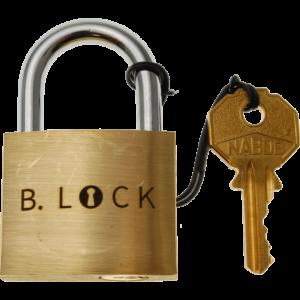 Boaz Feldman B-Lock Metal Puzzle Lock