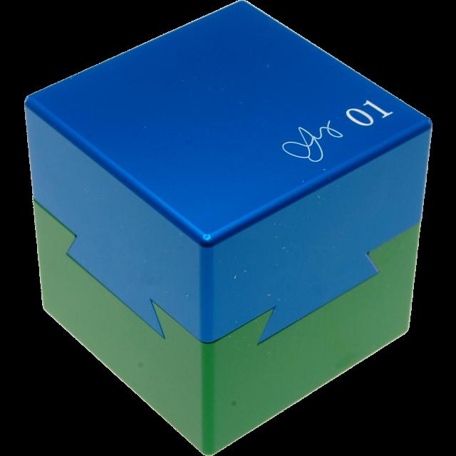 Wil Strijbos Dovetail Cubes Schwalbenschwanzwürfel 1,