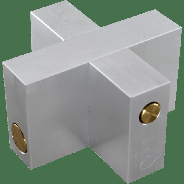 Wil Strijbos Aluminium Cross Metal Puzzle