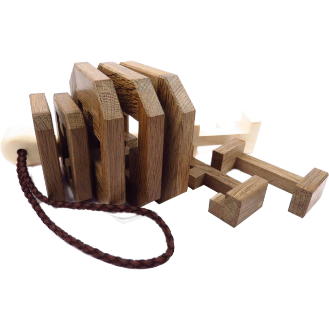 Pelikan Puzzles Thor's Hammer Puzzle Wooden