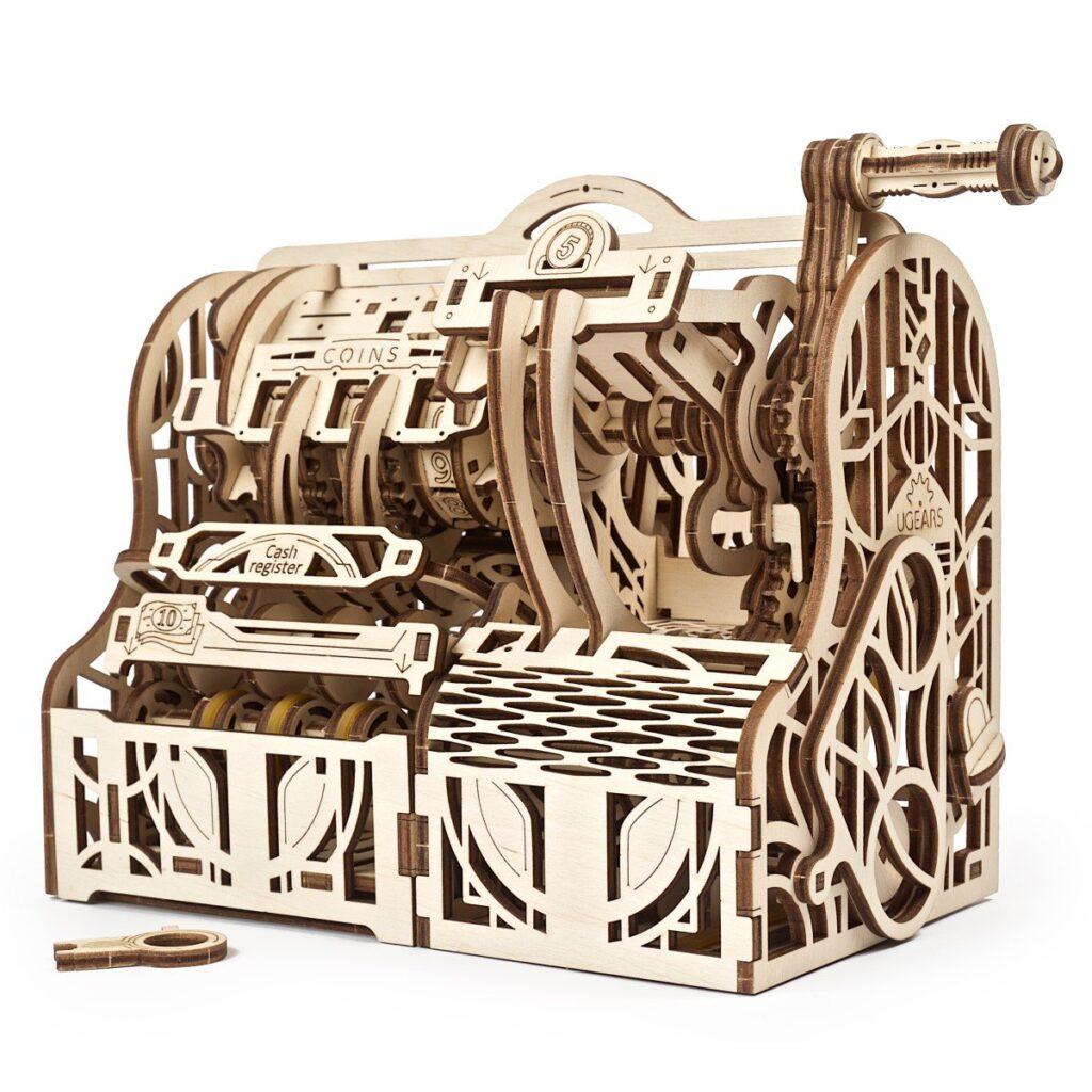 UGears Cash Register STEM Model Wooden 3D Puzzle