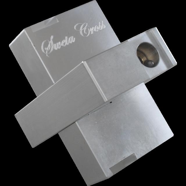 Wil Strijbos Sweta Cross Metal Puzzle