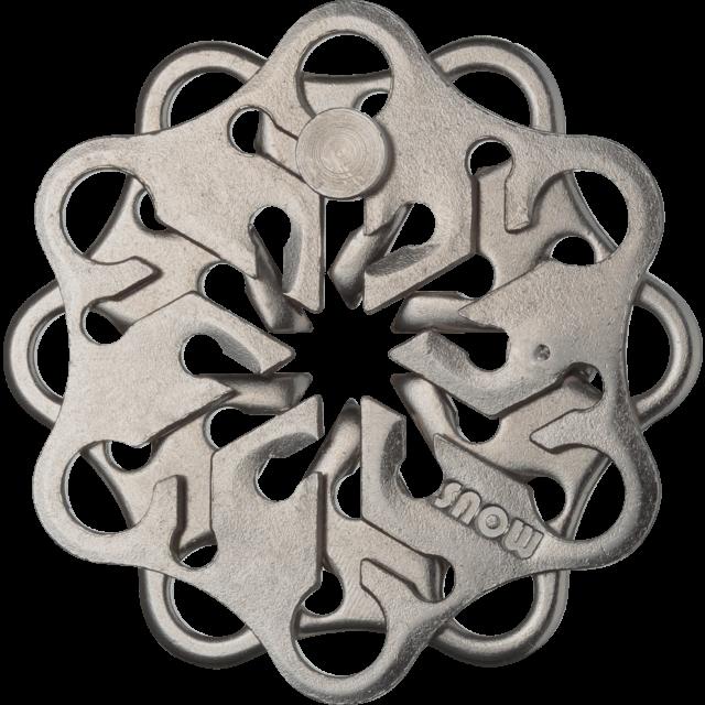 Hanayama Cast Snow Puzzle