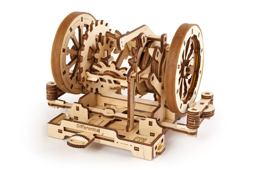 Ugears StemLab differential 3d wooden Model