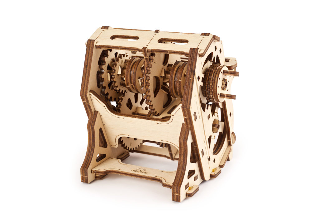 UGears STEM LAB Gearbox Wooden 3D model