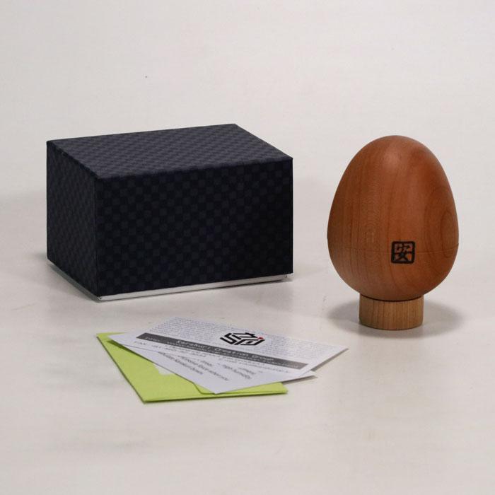 Egg Puzzle box by karakuri