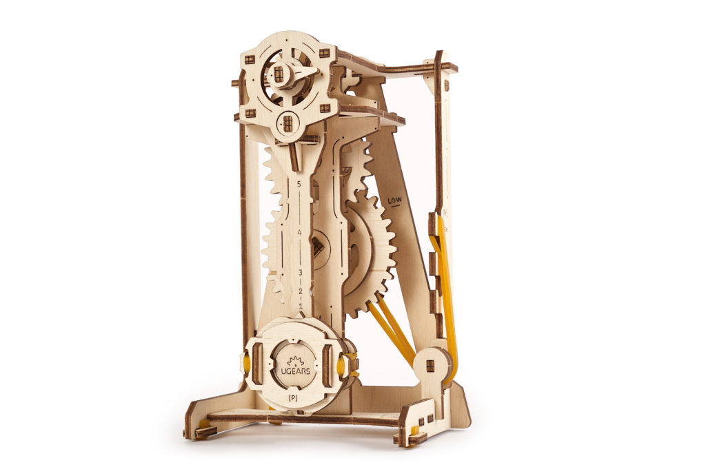 STEM LAB Pendulum wooden 3D model by Ugears