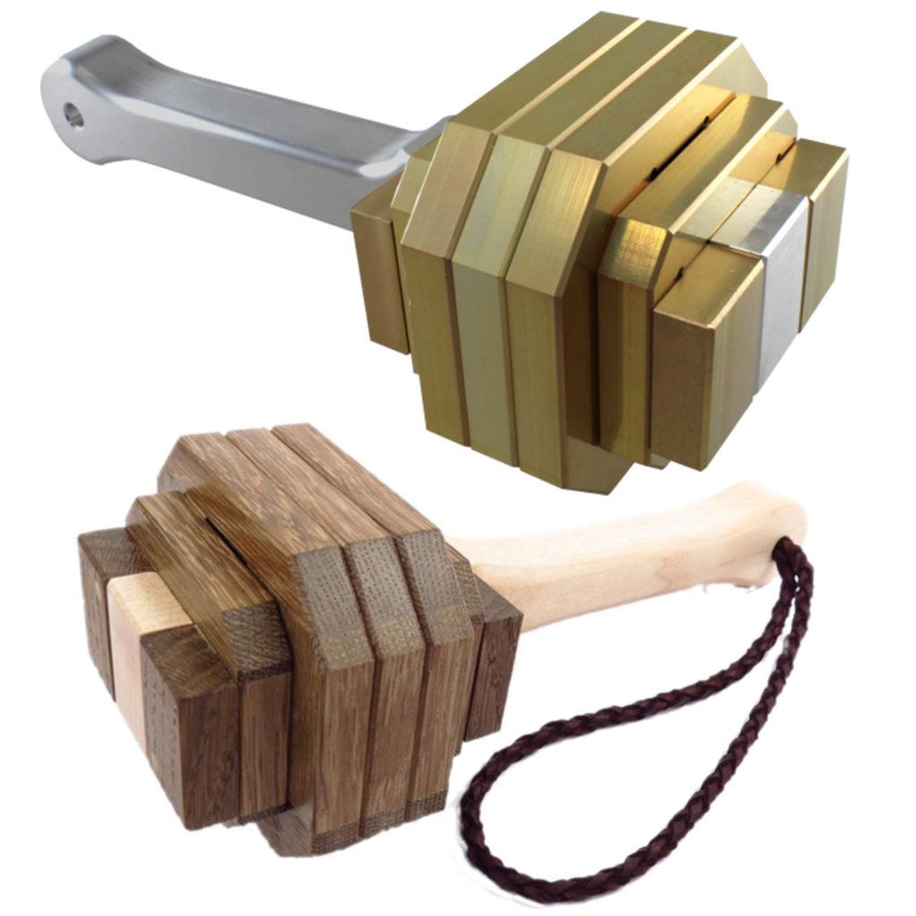 Pelikan Puzzles Thor's Hammer Metal and Wood