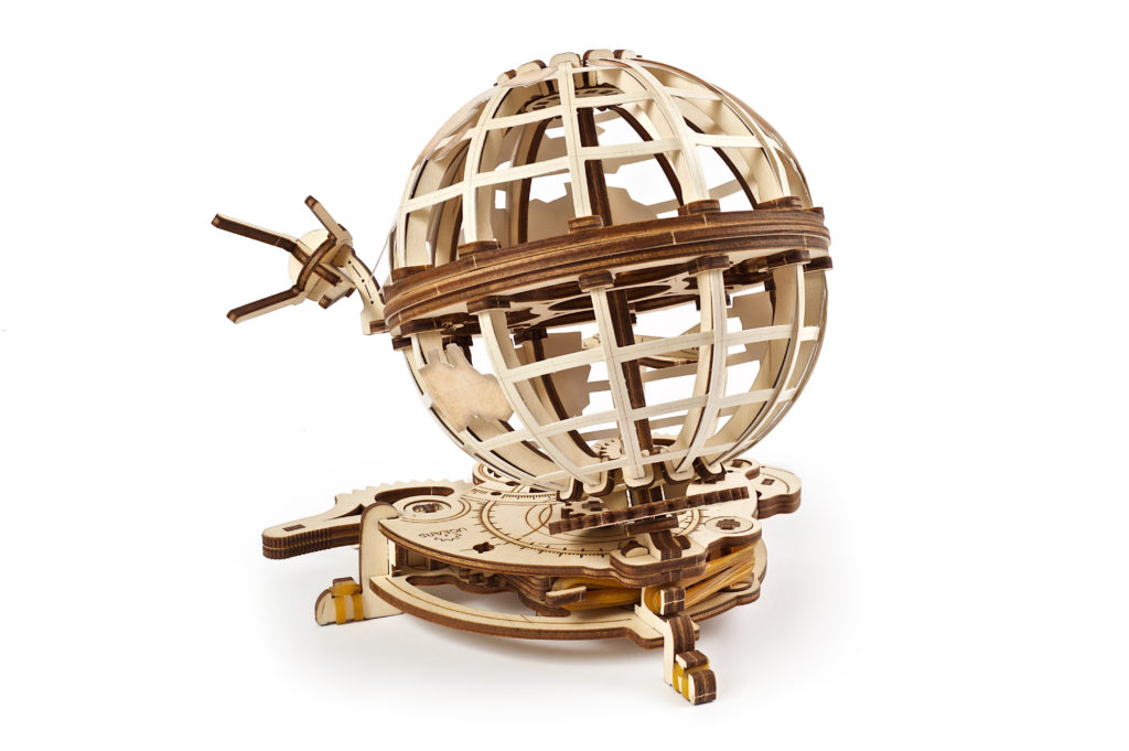 Ugears Globus Model Kit 3D Wooden puzzle