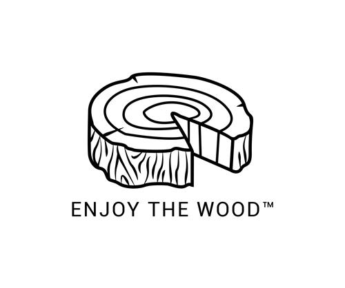 enjoy the wood logo