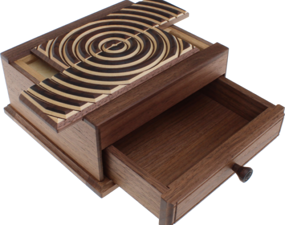 Karakuri Ripple Out Puzzle Box Solution
