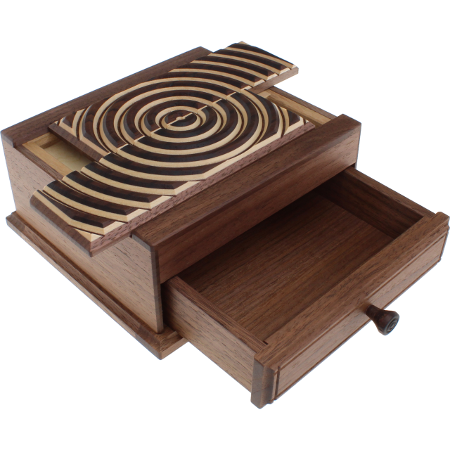 Karakuri Ripple Out Puzzle Box Solution