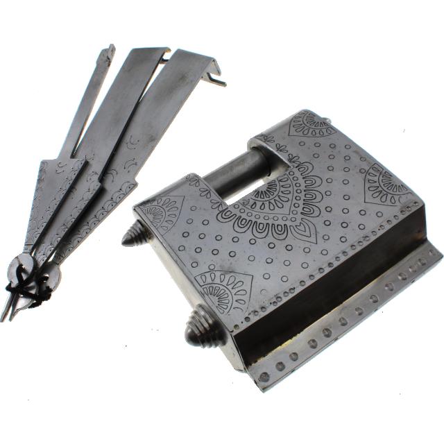Big 3 Key Lock Puzzle Lock Metal Puzzle by Puzzle Master
