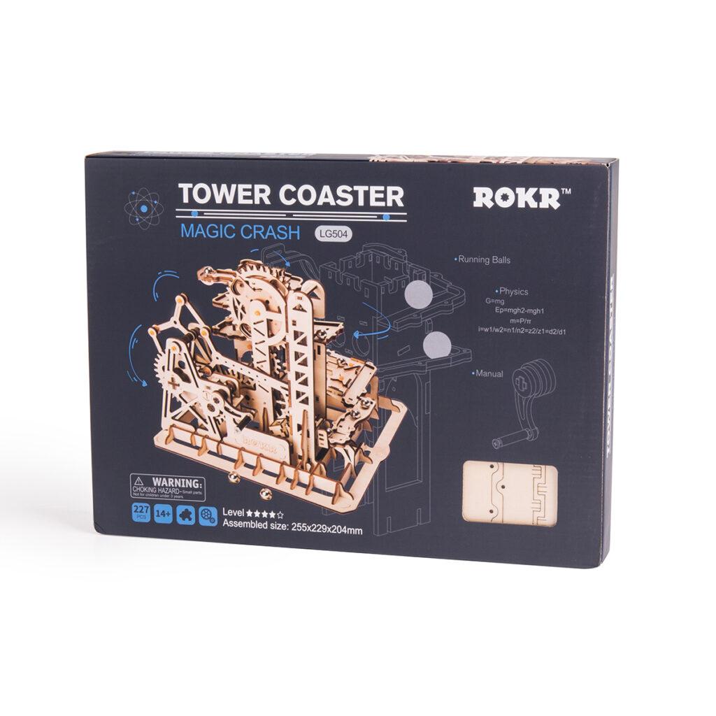 ROKR Marble Climber LG504 Tower Coaster FAQ