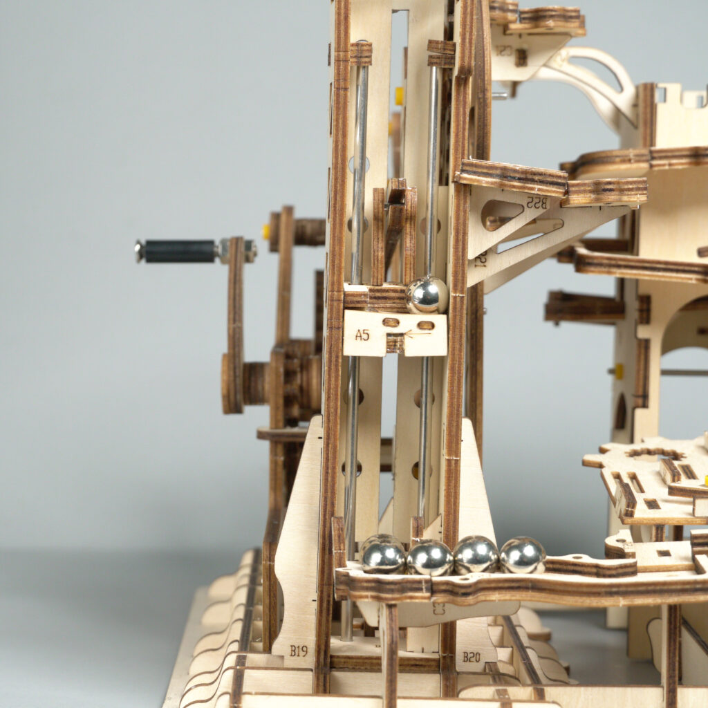 ROKR Marble Climber LG504 Tower Coaster assembly