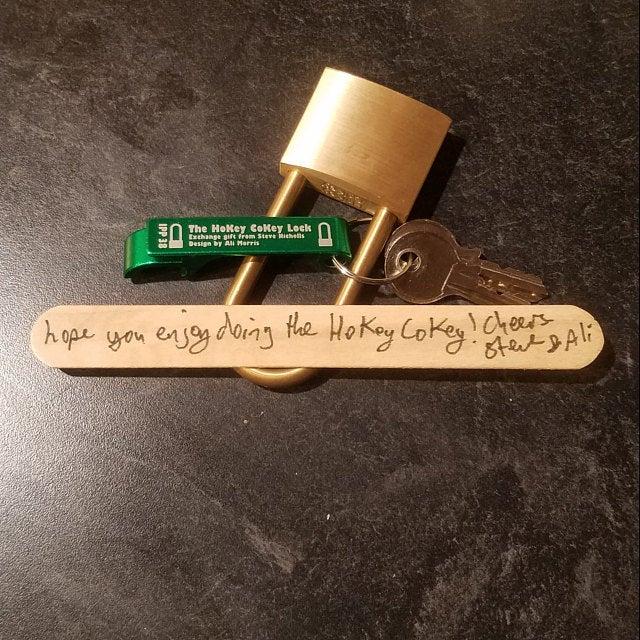 HoKey CoKey Trick Lock by Two Brass Monkeys Review photo