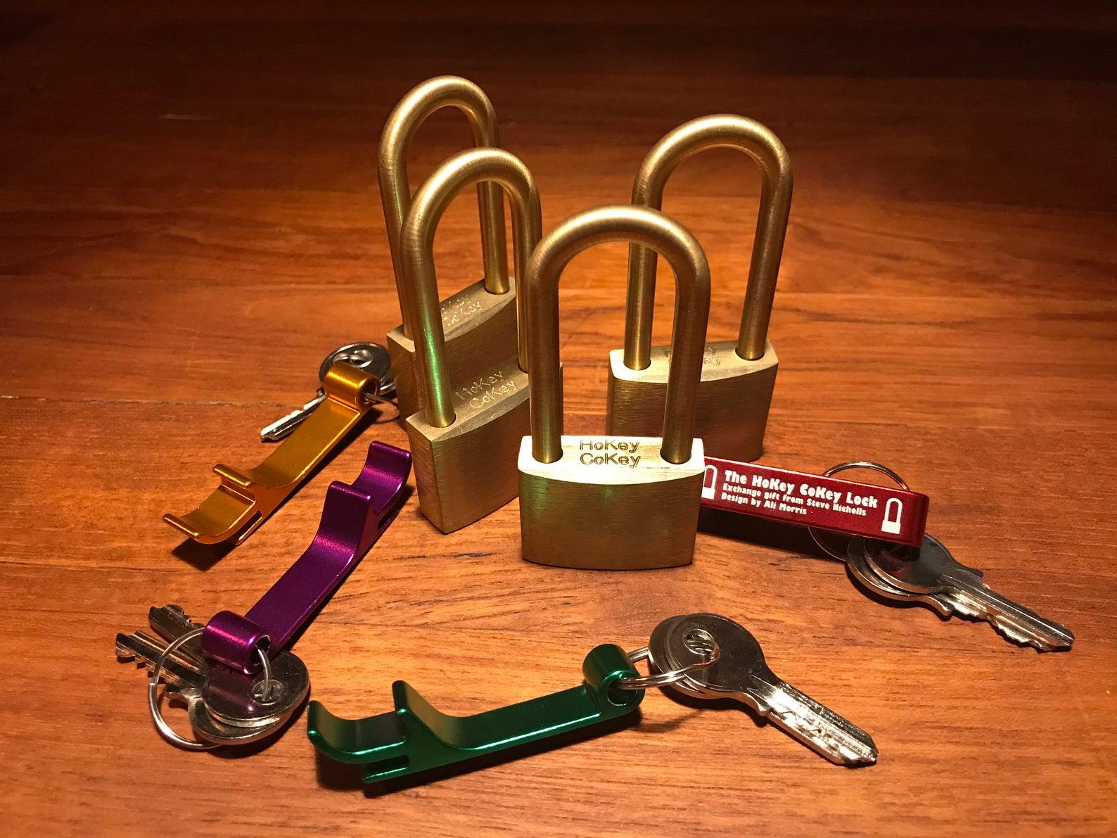 HoKey CoKey Trick Lock by Two Brass Monkeys Solution