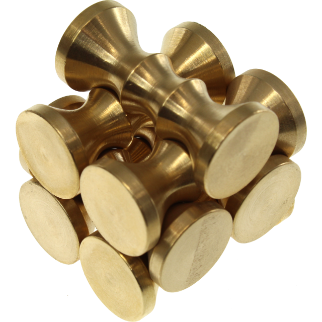 Hyperboloid Burr Puzzle by Two Brass Monkeys