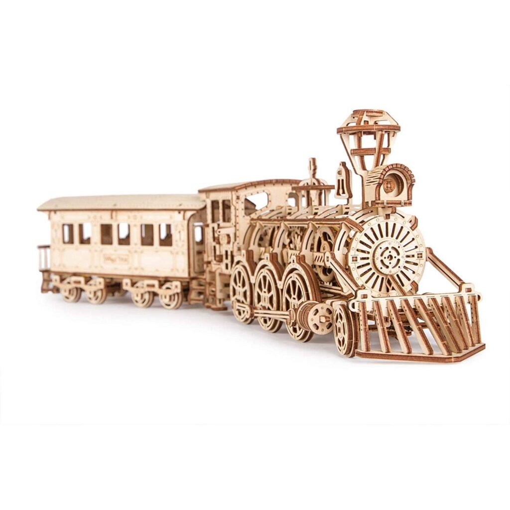 Lokomotive R17 Holz 3D Puzzle von WoodTrick
