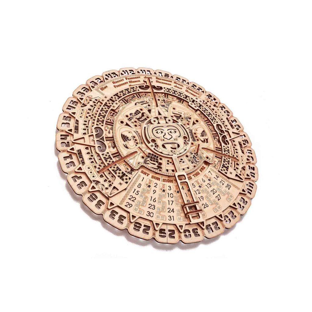 Mayan Calendar Wooden 3d model by woodtrick