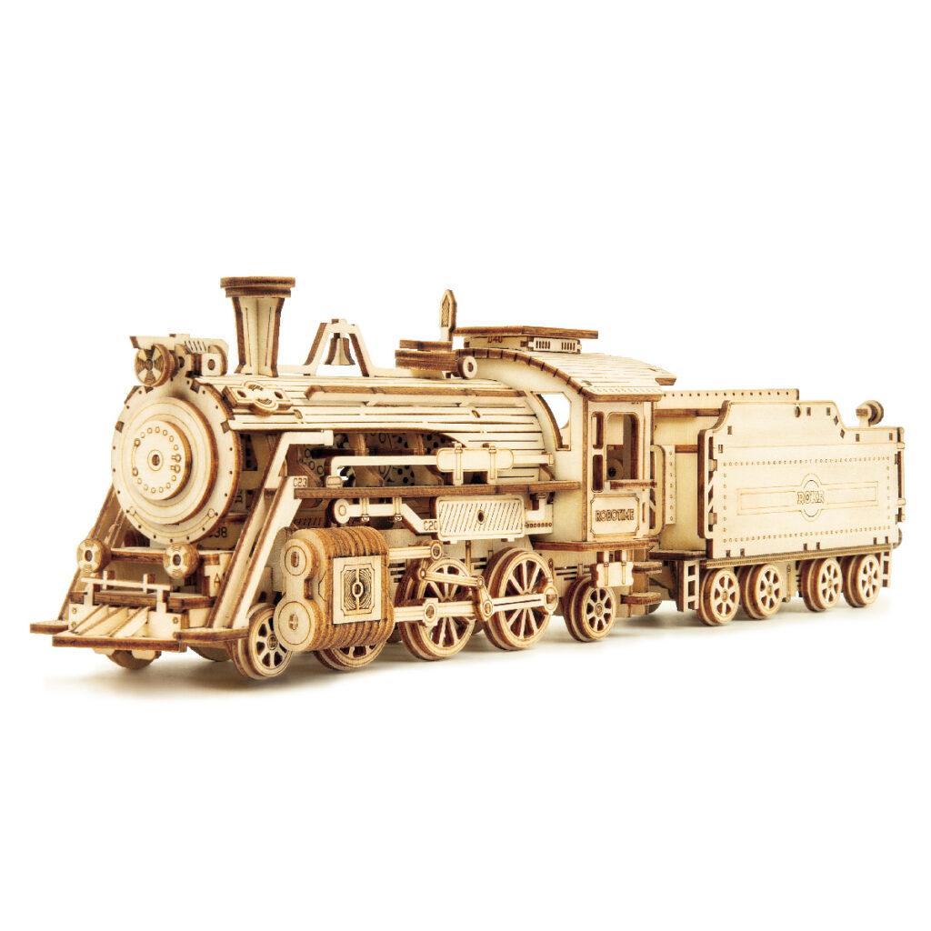 Prime Steam Express Modell Holz 3D Puzzle von ROKR