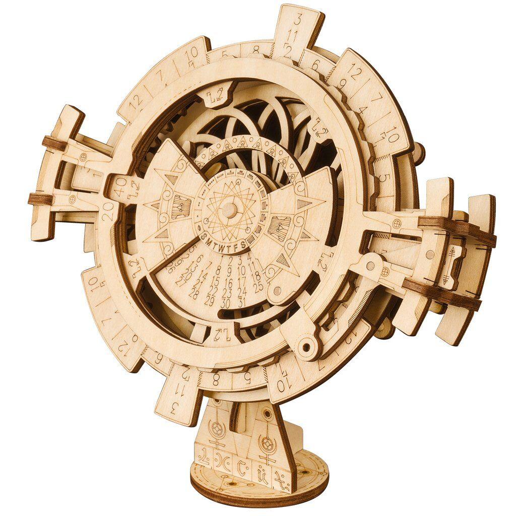 Perpetual Calendar ROKR Model Wooden 3D puzzle