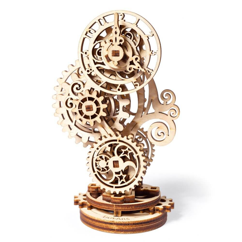 Ugears Steampunk Clock 3d wooden puzzle