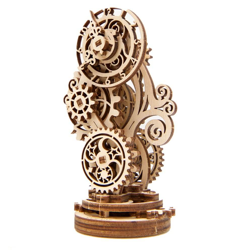 Ugears Steampunk Clock 3d wooden puzzle assembly