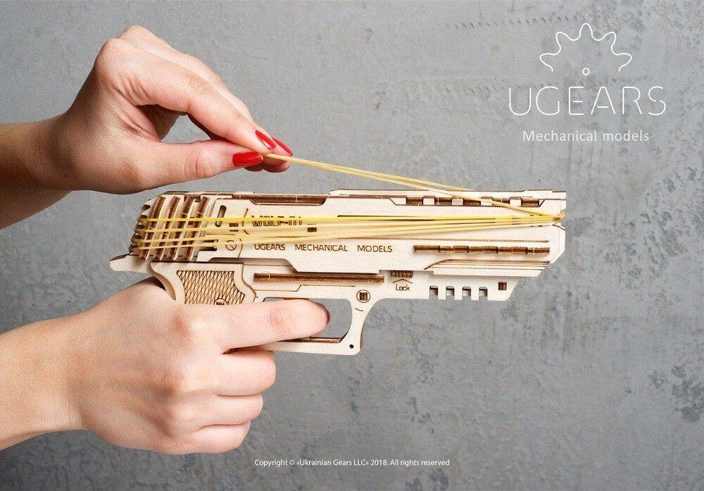Wolf-01 pistol puzzle