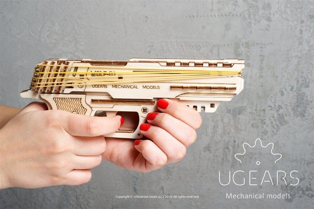 ugears gun puzzle