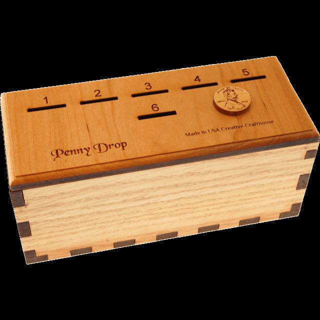 Penny Drop Puzzle Box