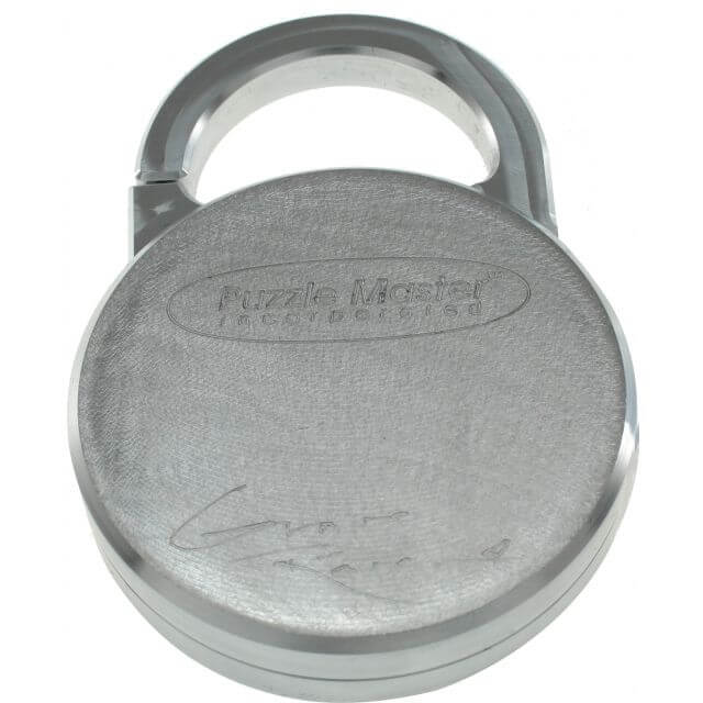 Lock'd In Puzzle Lock by GraveRaven Solution Silver