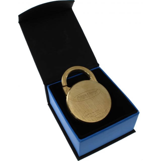 Lock'd In Puzzle Lock by GraveRaven packaging