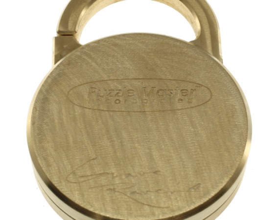 Lock'd In Puzzle Lock by GraveRaven brass solution