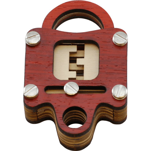 Voidlock Wood Puzzle Lock by Jean Claude Constantin