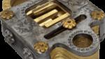 Voidlock Metal Puzzle Lock by Jean Claude Constantin