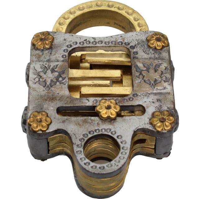 Voidlock Metal Puzzle Lock by Jean Claude Constantin Solution