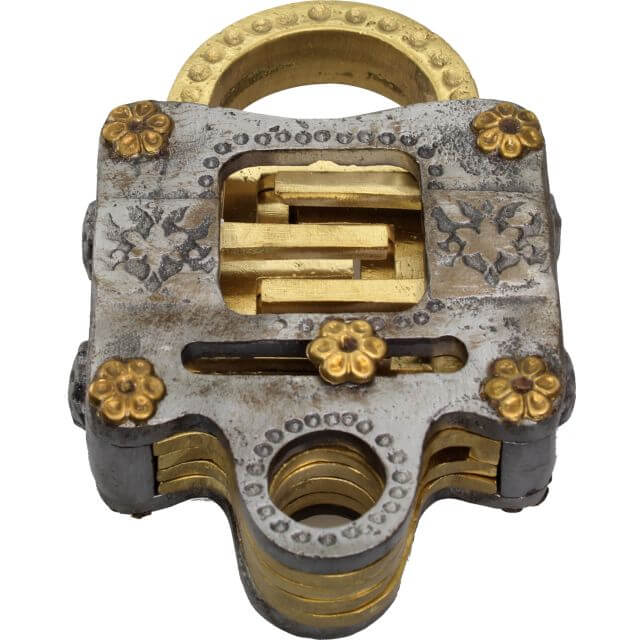 Voidlock Metal Puzzle Lock by Jean Claude Constantin Solution