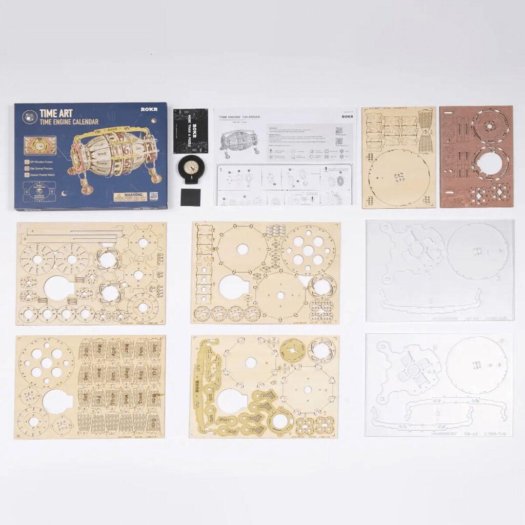 ROKR Wooden 3d Puzzle calendar